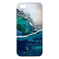 Sea Wave Waves Beach Water Blue Sky Iphone 5s/ Se Premium Hardshell Case