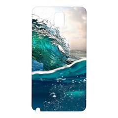 Sea Wave Waves Beach Water Blue Sky Samsung Galaxy Note 3 N9005 Hardshell Back Case