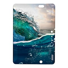 Sea Wave Waves Beach Water Blue Sky Kindle Fire Hdx 8 9  Hardshell Case