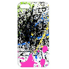 Spot Paint Pink Black Green Yellow Blue Sexy Apple Iphone 5 Hardshell Case With Stand