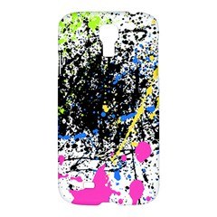 Spot Paint Pink Black Green Yellow Blue Sexy Samsung Galaxy S4 I9500/i9505 Hardshell Case