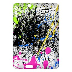 Spot Paint Pink Black Green Yellow Blue Sexy Kindle Fire Hdx Hardshell Case