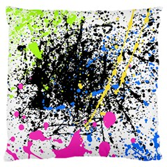 Spot Paint Pink Black Green Yellow Blue Sexy Standard Flano Cushion Case (one Side)