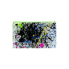 Spot Paint Pink Black Green Yellow Blue Sexy Cosmetic Bag (xs)