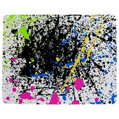 Spot Paint Pink Black Green Yellow Blue Sexy Jigsaw Puzzle Photo Stand (rectangular)