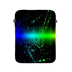 Space Galaxy Green Blue Black Spot Light Neon Rainbow Apple Ipad 2/3/4 Protective Soft Cases