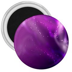 Space Star Planet Galaxy Purple 3  Magnets