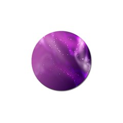 Space Star Planet Galaxy Purple Golf Ball Marker (4 Pack)