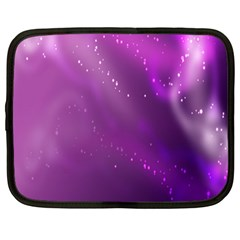 Space Star Planet Galaxy Purple Netbook Case (large)