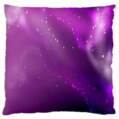 Space Star Planet Galaxy Purple Large Cushion Case (one Side)