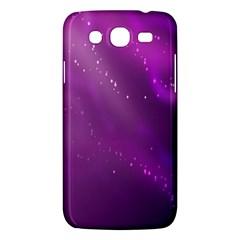 Space Star Planet Galaxy Purple Samsung Galaxy Mega 5 8 I9152 Hardshell Case