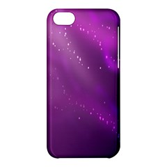Space Star Planet Galaxy Purple Apple Iphone 5c Hardshell Case