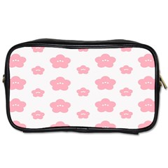 Star Pink Flower Polka Dots Toiletries Bags