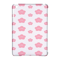 Star Pink Flower Polka Dots Apple Ipad Mini Hardshell Case (compatible With Smart Cover)