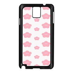 Star Pink Flower Polka Dots Samsung Galaxy Note 3 N9005 Case (black)
