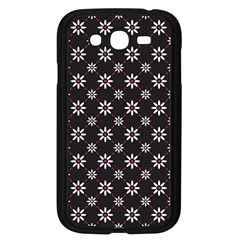Sunflower Star Floral Purple Pink Samsung Galaxy Grand Duos I9082 Case (black)