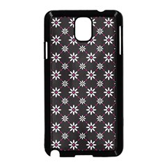 Sunflower Star Floral Purple Pink Samsung Galaxy Note 3 Neo Hardshell Case (black)