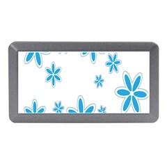 Star Flower Blue Memory Card Reader (mini)