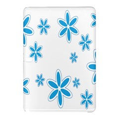 Star Flower Blue Samsung Galaxy Tab Pro 12 2 Hardshell Case