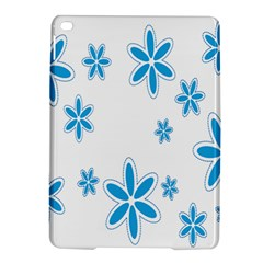 Star Flower Blue Ipad Air 2 Hardshell Cases