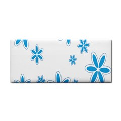 Star Flower Blue Cosmetic Storage Cases