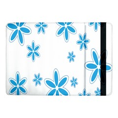 Star Flower Blue Samsung Galaxy Tab Pro 10 1  Flip Case