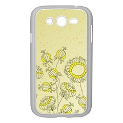 Sunflower Fly Flower Floral Samsung Galaxy Grand Duos I9082 Case (white)