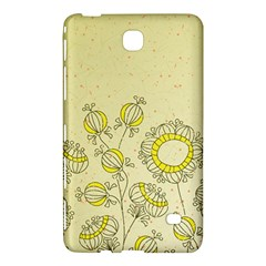 Sunflower Fly Flower Floral Samsung Galaxy Tab 4 (7 ) Hardshell Case