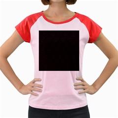Skin Abstract Wallpaper Dump Black Flower  Wave Chevron Women s Cap Sleeve T Shirt