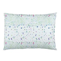 Spot Polka Dots Blue Pink Sexy Pillow Case (two Sides)