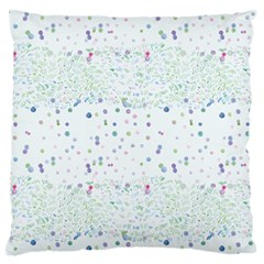 Spot Polka Dots Blue Pink Sexy Large Cushion Case (one Side)