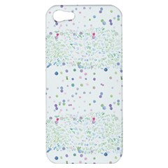 Spot Polka Dots Blue Pink Sexy Apple Iphone 5 Hardshell Case