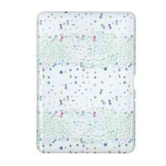 Spot Polka Dots Blue Pink Sexy Samsung Galaxy Tab 2 (10 1 ) P5100 Hardshell Case