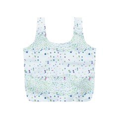 Spot Polka Dots Blue Pink Sexy Full Print Recycle Bags (s)