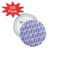 Pattern Kitty Headphones  1 75  Buttons (100 Pack)