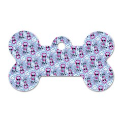 Pattern Kitty Headphones  Dog Tag Bone (one Side)