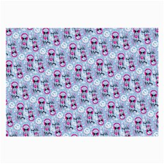 Pattern Kitty Headphones  Large Glasses Cloth (2 Side)