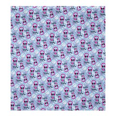 Pattern Kitty Headphones  Shower Curtain 66  X 72  (large)