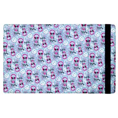 Pattern Kitty Headphones  Apple Ipad 3/4 Flip Case