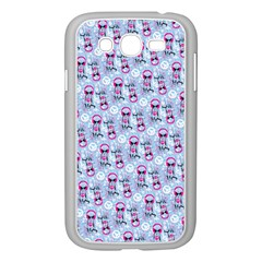 Pattern Kitty Headphones  Samsung Galaxy Grand Duos I9082 Case (white)