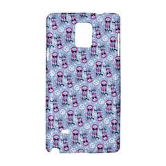 Pattern Kitty Headphones  Samsung Galaxy Note 4 Hardshell Case