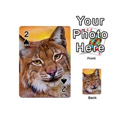 Tiger Beetle Lion Tiger Animals Playing Cards 54 (mini)