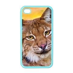 Tiger Beetle Lion Tiger Animals Apple Iphone 4 Case (color)