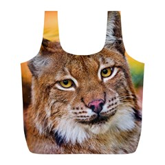 Tiger Beetle Lion Tiger Animals Full Print Recycle Bags (l)