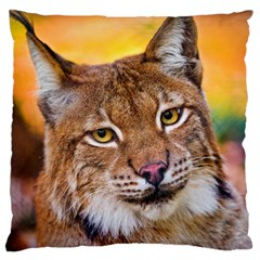 Tiger Beetle Lion Tiger Animals Large Flano Cushion Case (one Side)