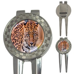 Tiger Beetle Lion Tiger Animals Leopard 3 In 1 Golf Divots