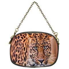 Tiger Beetle Lion Tiger Animals Leopard Chain Purses (one Side)