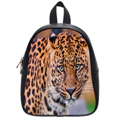 Tiger Beetle Lion Tiger Animals Leopard School Bag (small)