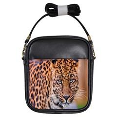 Tiger Beetle Lion Tiger Animals Leopard Girls Sling Bags