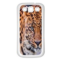 Tiger Beetle Lion Tiger Animals Leopard Samsung Galaxy S3 Back Case (white)